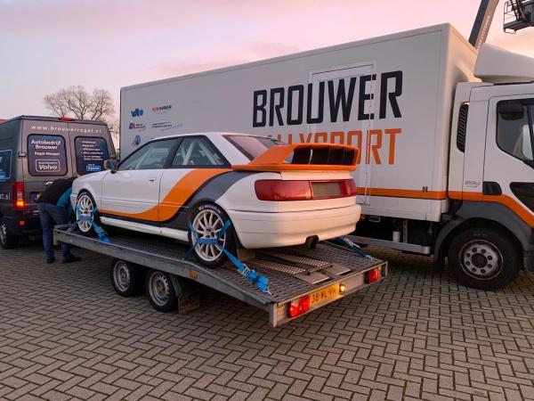 Brouwer Rallysport verkoopt Audi S2 Quattro